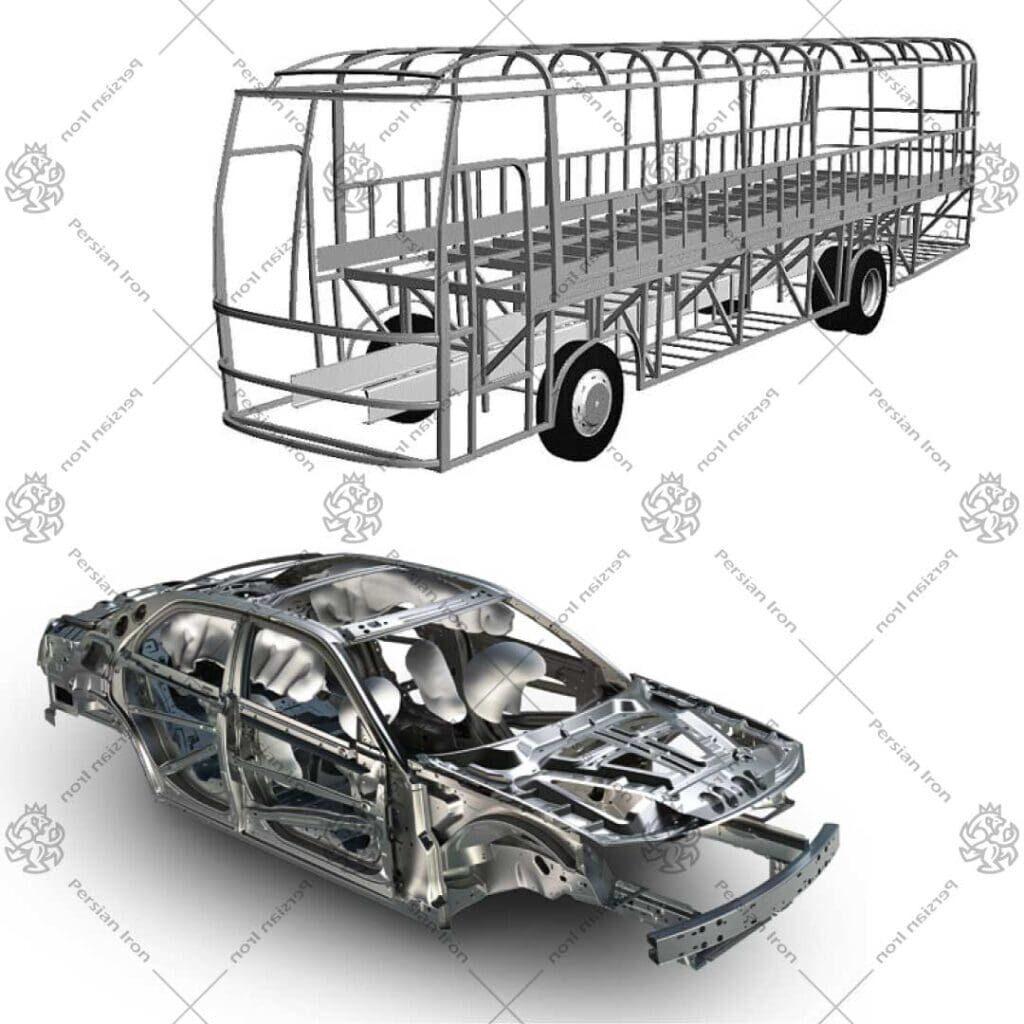 کاریرد-پروفیل-در-وسایل-نقلیه